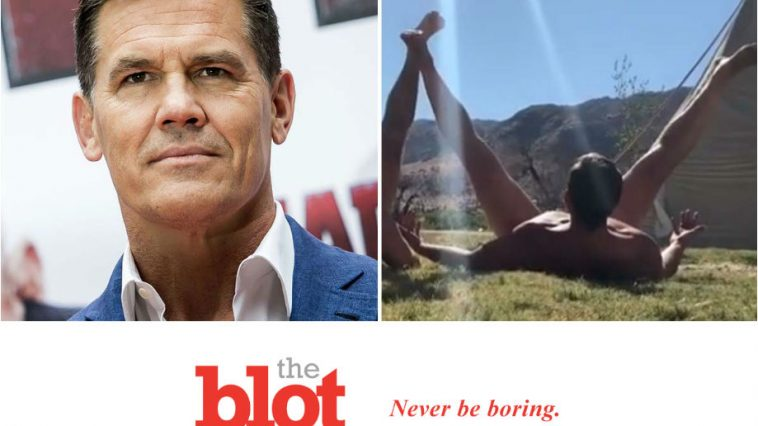 Josh Brolin Attempts Taint Tanning, Instantly Regrets It