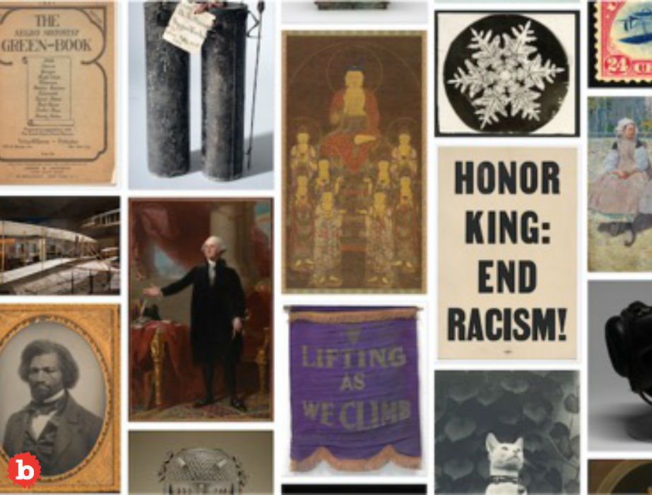 Free! Smithsonian Releases 2.8 Million Images Into Public Domain