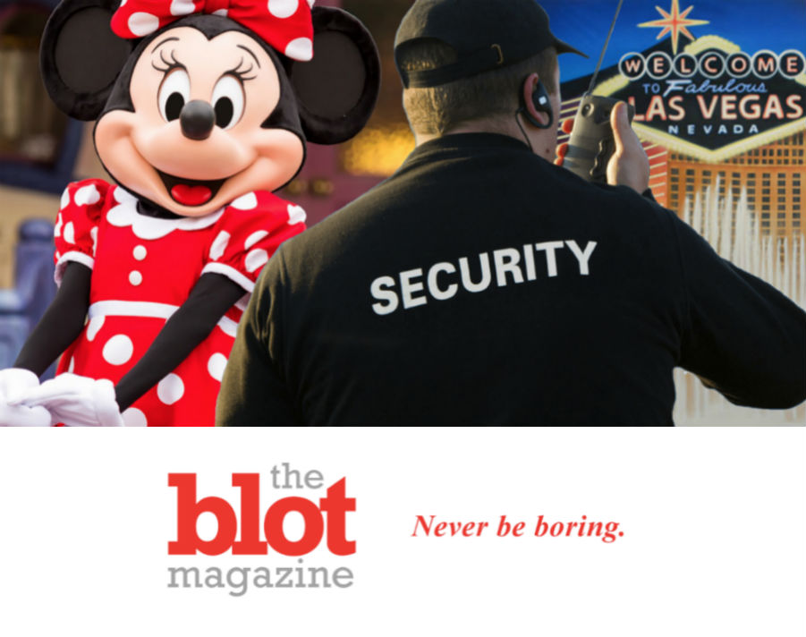 Disney Goes Vegas as Minnie in Cat Fight, Mickey & Goofy Bouncers