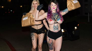 Portland Strippers Laid Off, Now Delivering Boober Eats
