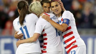 US Soccer Women Athletes Want Equal Pay, Federation Says They're Inferior
