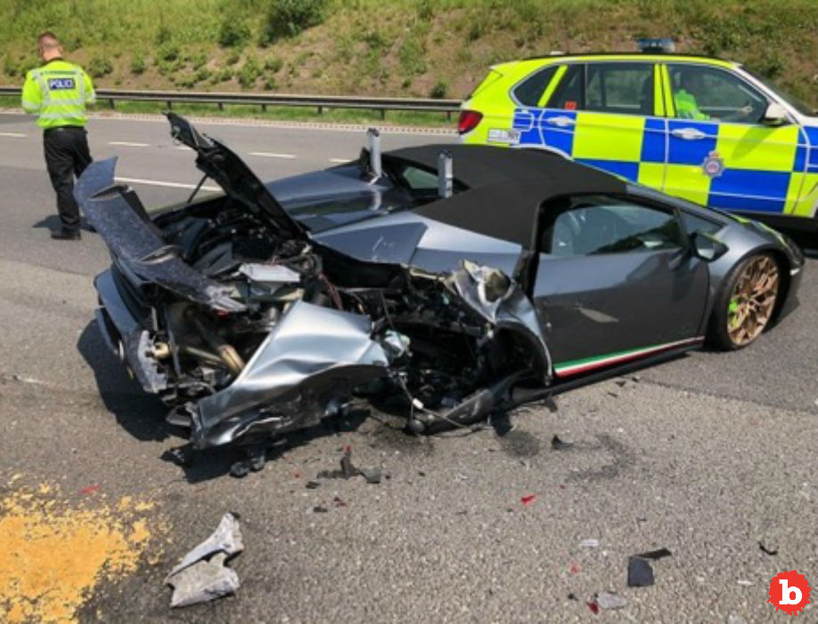 Poor Sap Buys Gorgeous Lamborghini, Crashes 20 Minutes Later