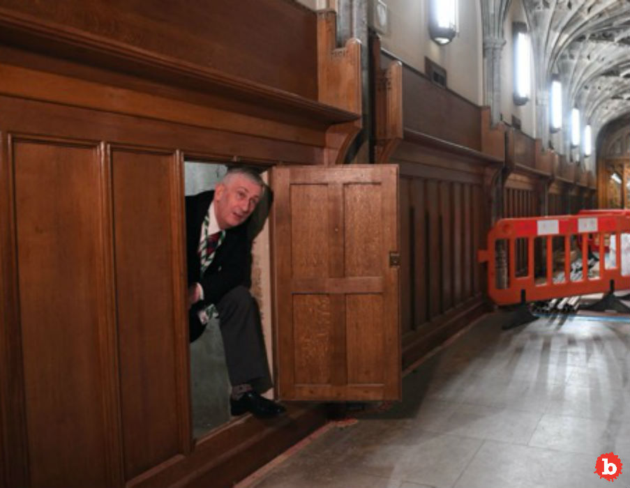 Secret Passageway Found at United Kingdom's Parliament