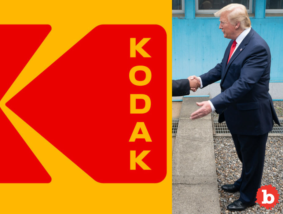 Did Trump and Kodak Just Enjoy Insider Trading Via US Tax Dollars?