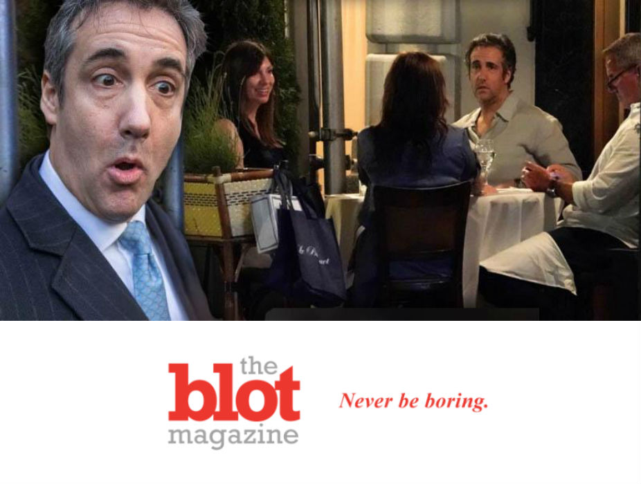 Damn Fool Michael Cohen Back in Jail, Skips House Arrest for UES Meal