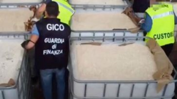 Police Seize $1.2 Billion in Amphetamines, Biggest Drug Bust Ever