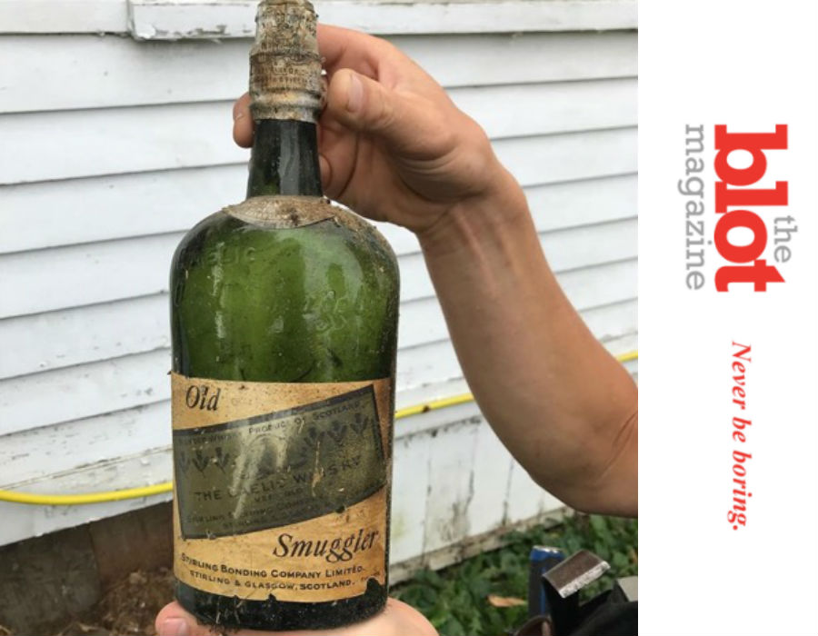 Upstate NY Couple Discovers 100-Year-Old Bootleg Whiskey in Home