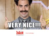 Borat Return Infects Kazakhstan, New Slogan is Now Very Nice