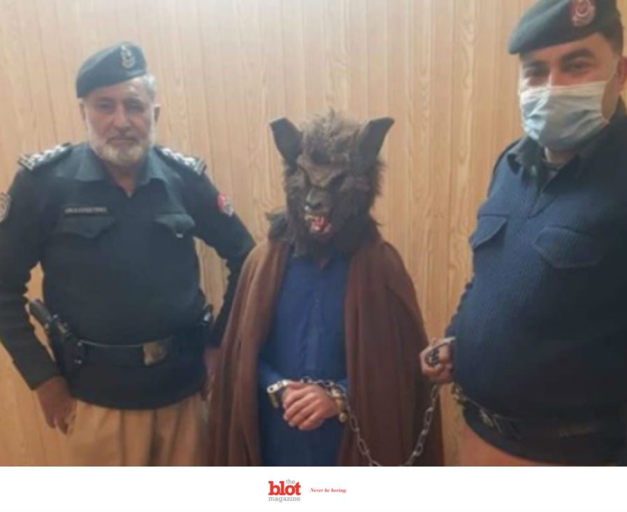 Police in Pakistan Arrest New Year's Idiot Werewolf