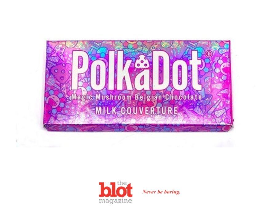 Washington DC Now Offers Magic Mushroom Chocolate, The Polka Dot