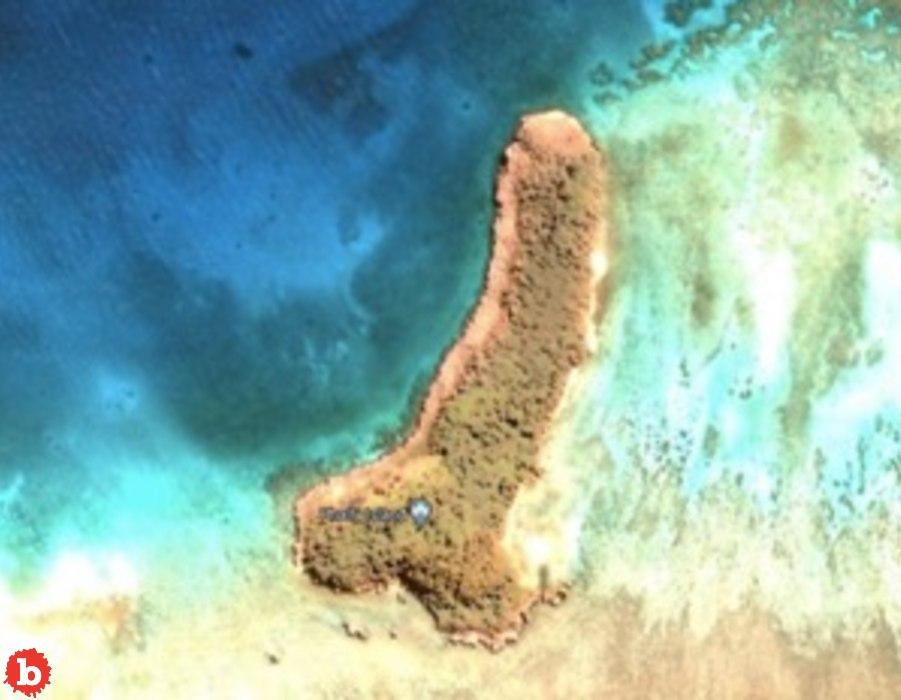 Google Earth Superfan Discovers Island That Looks Like a Penis