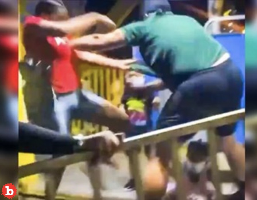 Florida Ferris Wheel Operator Attacks Black Mom, Then the Crowd Comes In
